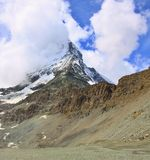 Matterhorn in the Swiss Alps Royalty Free Stock Photos