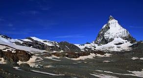 Matterhorn in the Swiss Alps Royalty Free Stock Photo