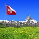 Matterhorn - Swiss alps Royalty Free Stock Photo