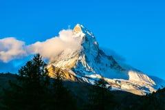 Matterhorn in Swiss Alps Royalty Free Stock Image