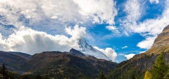 Matterhorn in Swiss Alps Royalty Free Stock Photography
