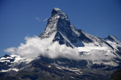 Matterhorn, Swiss Alps, Switzerland Royalty Free Stock Photos