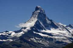 Matterhorn, Swiss Alps, Switzerland Stock Photo