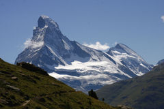 Matterhorn, Swiss Alps, Switzerland Royalty Free Stock Photography