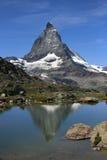 Matterhorn, Swiss Alps, Switzerland stock photography