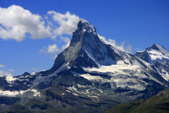 Matterhorn, Swiss Alps, Switzerland Stock Photography