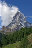 Matterhorn in Switzerland stock images