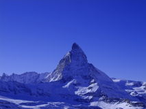 The Matterhorn, Switzerland Royalty Free Stock Images
