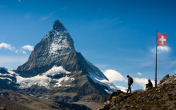 Matterhorn switzerland Stock Photo