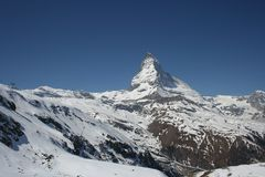 Matterhorn, Switzerland Fotografia de Stock Royalty Free