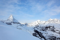matterhorn switzerland Royaltyfria Bilder