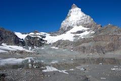 Matterhorn switzerland Imagem de Stock