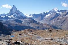Matterhorn switzerland Fotografia de Stock