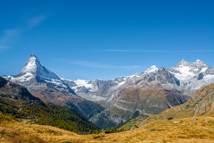 matterhorn switzerland Royaltyfri Foto
