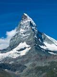Matterhorn in Switzerland stock photo
