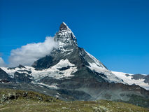 Matterhorn in Switzerland Stock Photo