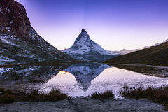 matterhorn switzerland Royaltyfria Foton