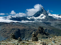 Matterhorn in Switzerland Royalty Free Stock Photo