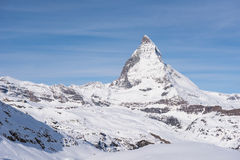 matterhorn switzerland Royaltyfri Bild