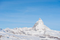matterhorn switzerland Arkivbilder