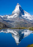 The Matterhorn in Switzerland Stock Photos