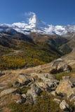 The Matterhorn, Switzerland Stock Images