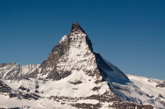 The Matterhorn in Switzerland Stock Photo