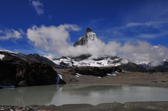 Matterhorn in Switzerland Royalty Free Stock Photography