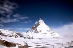 Matterhorn Switzerland. The most beautiful Swiss Alps, Matterhorn in Zermatt, Switzerland royalty free stock photography
