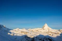 Matterhorn, Switzerland. Royalty Free Stock Images