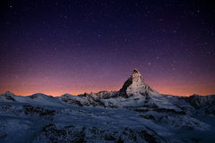 Matterhorn, Switzerland. The Matterhorn peak, Zermatt, Switzerland Royalty Free Stock Image