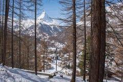 Matterhorn, Switzerland. Royalty Free Stock Photography
