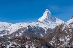 Matterhorn, Switzerland. Stock Image