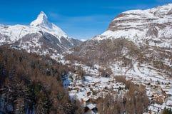 Matterhorn, Switzerland. Royalty Free Stock Photos
