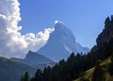 Matterhorn, Switzerland stock photography