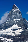 matterhorn switzerland valais Royaltyfri Foto