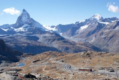 Matterhorn Switzerland Stock Photography