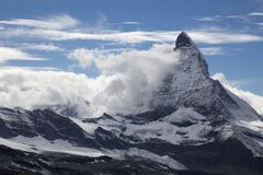 Matterhorn, Switzerland, Zermat obraz royalty free