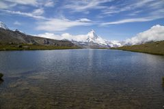 Matterhorn, Switzerland, Zermat obraz stock