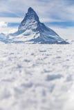 matterhorn switzerland zermatt Royaltyfri Foto