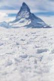 matterhorn switzerland zermatt Arkivbilder