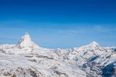 matterhorn Szwajcarii Obrazy Royalty Free