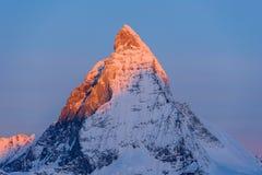 matterhorn Szwajcarii Fotografia Stock