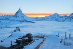 matterhorn Szwajcarii Zdjęcia Royalty Free