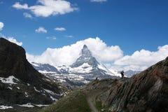 Matterhorn, Valais, Svizzera Immagine Stock