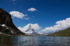 Matterhorn, Valais, Svizzera Fotografia Stock Libera da Diritti
