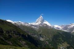 Matterhorn, Valais, Svizzera Immagine Stock Libera da Diritti