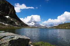 Matterhorn, Valais, Svizzera Fotografie Stock