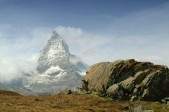 Matterhorn, Valais, Switzerland Stock Images