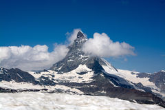 Matterhorn, Valais, Switzerland Stock Photo